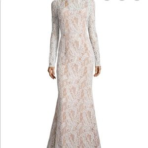 NWT Carmen Marc Valvo Lace Dress